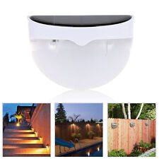 Waterproof Outdoor Garden 6 LED Solar Light Control Gutter Fence Yard Wall Lamp