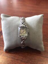 Vintage Luton Sterling Silver Ladies Watch