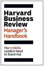 El Manual de Harvard Business Review Manager: las habilidades de líder.. nuevo libro de 17
