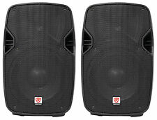 "2 Rockville SPGN104 10"" Passive 800W DJ PA Speakers ABS Lightweight Cabinet 4ohm"