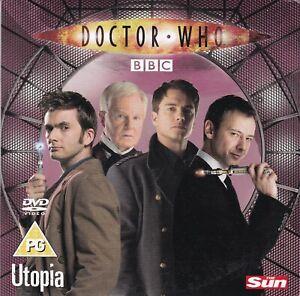 DOCTOR WHO Utopia ( UK THE SUN Newspaper DVD ) BBC