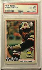 1978 Topps Eddie Murray Rc PSA 8 NM-MT Orioles HOF Superstar!