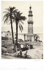 c.1857 PHOTO - FRITH HOLY LAND VIEW OF GIRGEH