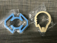 Star Wars Millennium Falcon TIE Fighter Cookie Cutter Pair
