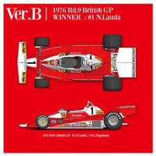 Model Factory Hiro K705 1:12 312T2 1976 Ver.B Rd.9 British GP Win Fulldetail Kit