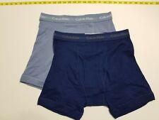 Calvin Klein Boxer Briefs - Medium - Blue two shades - 2 Briefs