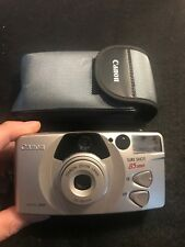 CANON Sure Shot 85 ZOOM Platinum Point & Shoot 35mm Film Camera with Wrist Strap