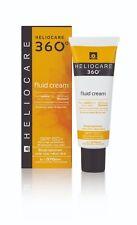 Heliocare 360 Fluid Cream SPF50+ Broad Spectrum Sunscreen Solar Protector