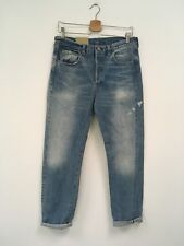 Levi's Vintage Clothing (LVC) 501 Cone Denim Big E Rinsed 1966 31 X 34 NWT