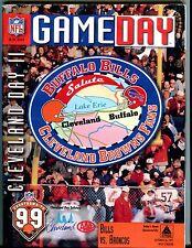GameDay Magazine Bills vs. Broncos Oct. 26 1997 EX 051917nonjhe