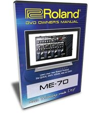 Roland (Boss) ME-70 DVD Video Tutorial Manual Help