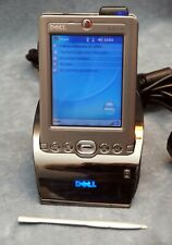 DELL AXIM X30 POCKET PC W/CRADLE, STYLUS, CHARGER - WORKING, WEAK BATTERY
