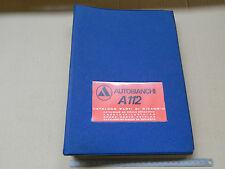 CATALOGO PARTI DI RICAMBIO ORIGINALE AUTOBIANCHI A112 112 1973 ABARTH 58 +NORM