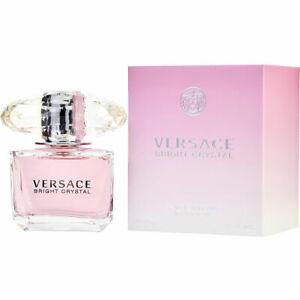 Bright Crystal by Versace 3.0 oz / 90 ml Eau de Toilette For Women Brand New