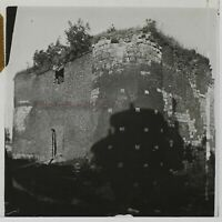 Francia Torre Fissaggio Foto Stereo PL46Th1n6 Placca Da Lente Vintage C1925