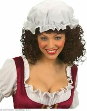 Fancy Dress Victorian Maid MOP Cap Elasticated White One Size by Smiffys