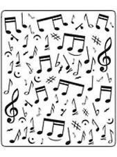 CRAFTS TOO Embossing Folder - Musical Note CTFD3029 Embossing Folder Free UK P&P