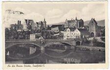 Zwischenkriegszeit (1918-39) Ansichtskarten aus Thüringen mit dem Thema Brücke