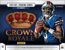 2013 Panini Crown Royale Football Hobby Box FACTORY SEALED 4 HITS 2 Auto