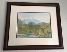 Original Watercolor & Gouache Painting by listed Ohio Artist Margaret S. Tinne