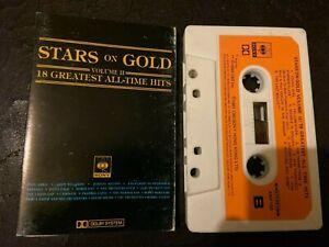 Stars on Gold cassette Volume II 18 Greatst All-time Hits cassette tape album