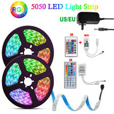 1~10M 5050 RGB LED STRIP LIGHTS FLEXBILE TAPE LIGHTING WIFI IR CONTROLLER 12V
