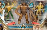 "Mattel DC Multiverse 6"" Aquaman Movie KING BRINE ORM 3-Pack SET NEW IN STOCK"