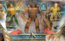 "Mattel DC Multiverse 6"" Aquaman Movie KING BRINE ORM 3-Pack SET NEW IN STOCK"
