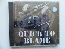 CD Album QUICK TO BLAME   S/T Going rounds ... INFECT 0206   METAL