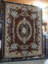 Brown Elegant Oriental Roomsize Rug 8x10