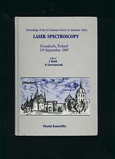 LASER SPECTROSCOPY * XV proceedings Quantum Optics 1987, ed. Heldt & Lawruszczuk