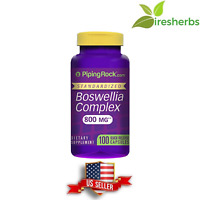 BOSWELLIA SERRATA STANDARDIZED COMPLEX 800 mg DIETARY SUPPLEMENT 100 CAPSULES
