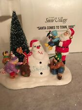 Dept 56 Santa Comes To Town, 1998- #54920 Mint Condition!