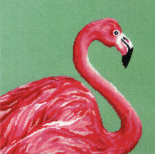 Needlepoint Kit ~ Dimensions Pink Flamingo Picture / Pillow #71-20086