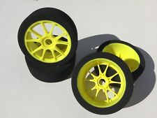 1/8 Buggy FOAM Tires Glued 17mm (YSK)