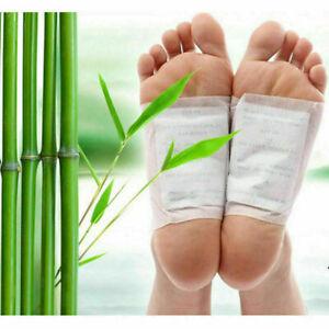Kinoki Detox Foot Patches Pads Body Toxins Feet Slimming Cleansing Herbal UK
