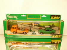 SOLIDO 620 DEPANNAGE AUTOROUTE LANCIA BETA COUPE + SAVIEM  - EXCELLENT IN BOX