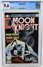 Moon Knight #2 (1980) CGC Graded 9.6 Direct Edition Marvel Comics