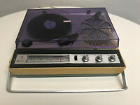 Commodore Record Player AM Radio Model RP-707 Powers On
