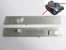 Mato 1/16 Rc German Panzer Iii Tank left And Right Metal Plate Mt087