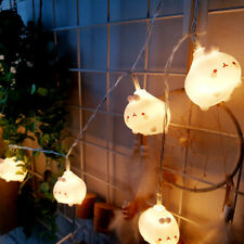 Molang String Light Garland Wedding Party Camping Interior Christmas Decoration