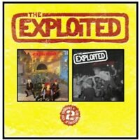 EXPLOITED - TROOPS OF TOMORROW/APOCALYPSE PUNK TOUR 2 CD NEW!