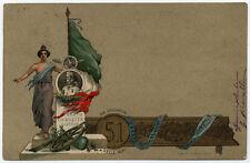 cartolina militare 51° REGGIMENTO GIA' CACCIATORI DELLE ALPI