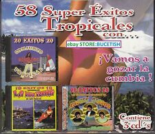 Conjunto Acapulco Tropical,La Luz Roja,Xavier Passos Box set 3CD New Nuevo seale