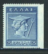 GREECE MNH Selections: Scott #213 25D Deep Blue HERMES CV$120+
