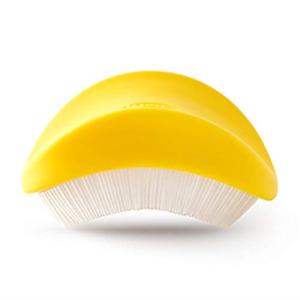 Chef'n Silkster Corn Vegetable Brush, Removes Silk, Yellow