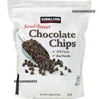 Kirkland Signature Semi Sweet Chocolate Chips 4.5 lb, Fresh Sealed New!!