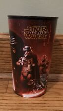 STAR WARS The Force Awakens 16 Oz Plastic Drinking Cup/Glass ~ Disney ~ Kylo Ren