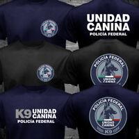 New Mexico Police Policia Federal K9 Dog Unit Unidad Canina T-shirt