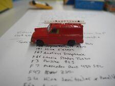 Vintage Husky Die Cast Ford Thames Van